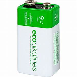 9 Volt Batterie : eco alkalines 9 volt battery 12 pack eco9v12 the home depot ~ Markanthonyermac.com Haus und Dekorationen