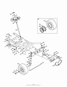 Mtd 13ac76lf031  Lt3800   2011  Parts Diagram For Front