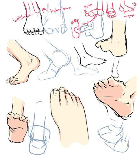 feet drawing tips  moni