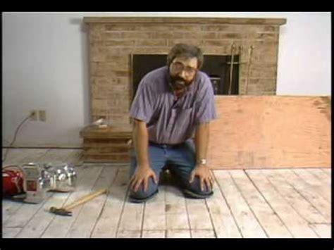 hardwood flooring subfloor preparation laying hardwood