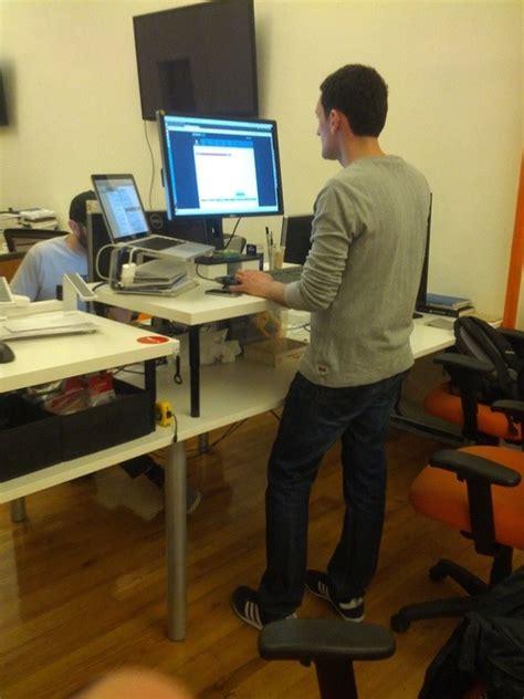 stackpop   adjustable ikea standing desk