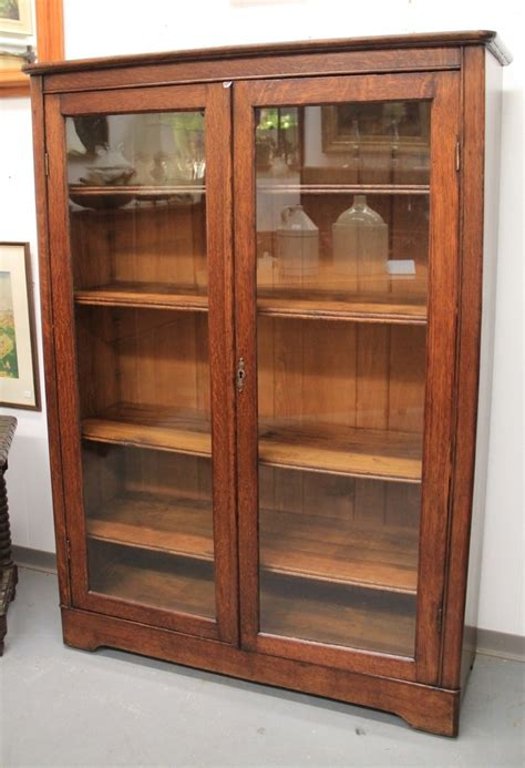 oak bookcase with doors bookcases ideas liatorp bookcase with glass doors white
