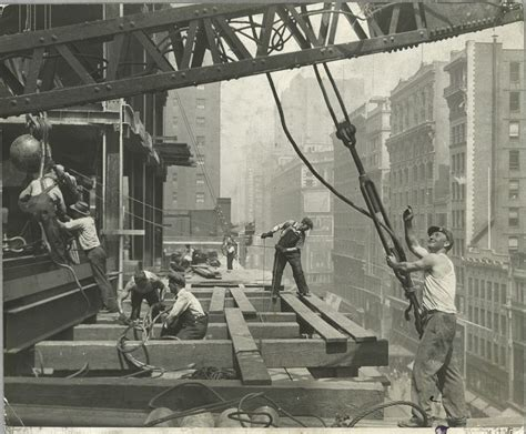 antique wood wing photos of the empire state building construction