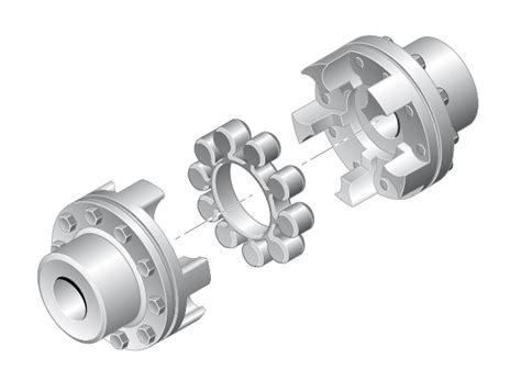 elastomer jaw couplings tns  lst ringfeder