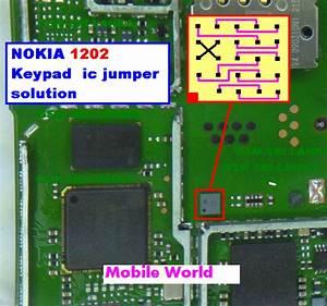 Sufi Telecom  Nokia 1202 Keypad Ic Jumper Solution