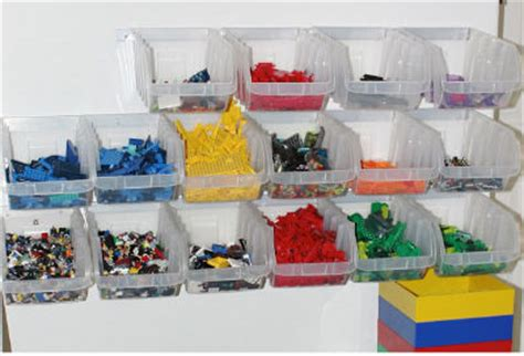 hanging lego storage tips ideas solutions