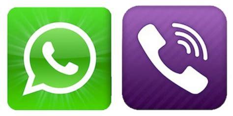 whatsapp  viber   phone messaging app