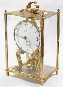 Kundo Miniature 400 Day Clock With Brass And Glass Case  U2013 Clockinfo Com