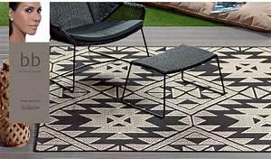 indoor und outdoor teppich kollektion von barbara becker With balkon teppich mit tapeten von barbara becker