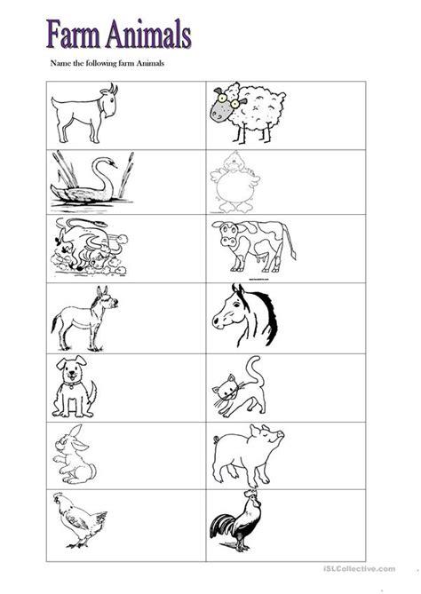 farm animals worksheet free esl printable worksheets made by teachers