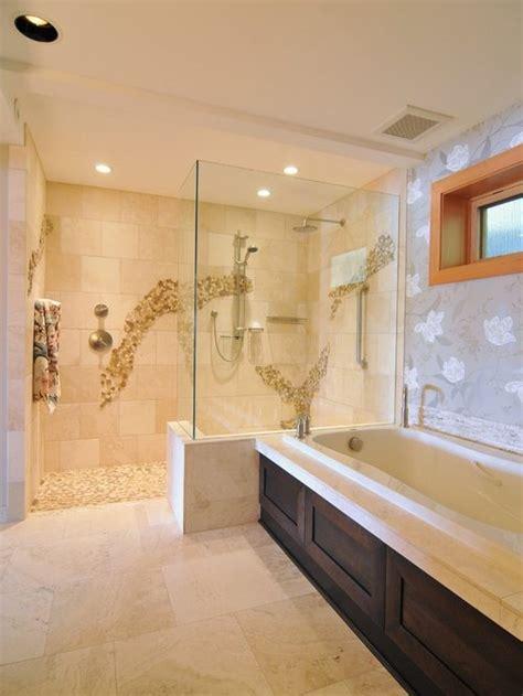 doorless shower home design ideas pictures remodel  decor