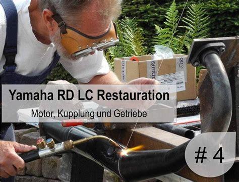 Rd Hj Arni 4 teil yamaha rd 350 lc restaurierung der motor