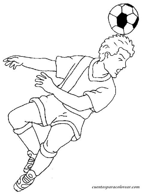 pintando dibujos de futbolistas  imprimir  colorear colorear imagenes