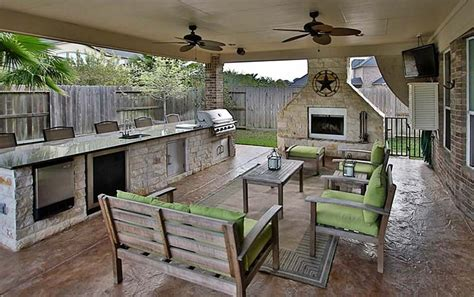 Outdoor Kitchen Pictures And Ideas by 37 Outdoor Kitchen Ideas Designs Picture Gallery