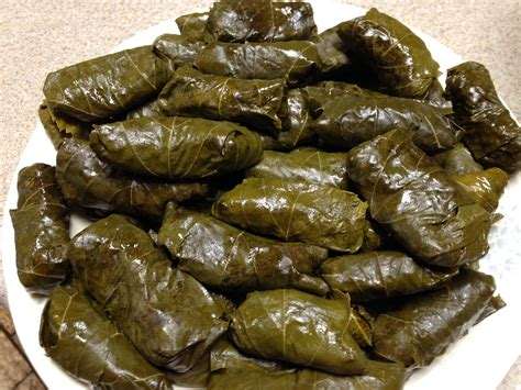 stuffed grape leaves armenian stuffed grape leaves feed the spirit