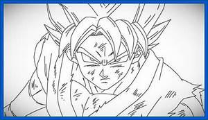 Imagenes para pintar dibujos de goku Dibujos de Dragon Ball Z