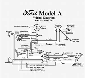 1930 Model A Ford Ignition Wiring Diagram
