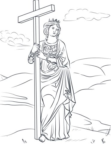 st helena coloring page  printable coloring pages