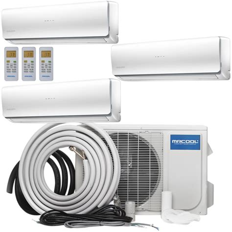 mrcool olympus  btu  ton ductless mini split air