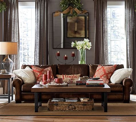 Decorating Ideas Living Room Leather Sofa by Best 25 Leather Decorating Ideas On