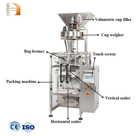 ce certification vertical automatic weighing pouch packing machine  grain seed chanachoor