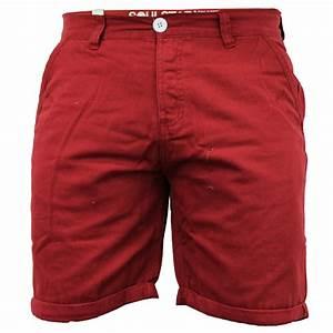 Mens Shorts Soul Star Chino Cotton Summer Half Pants Roll ...