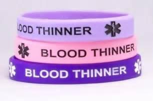 Blood Thinner Medical Alert Bracelets