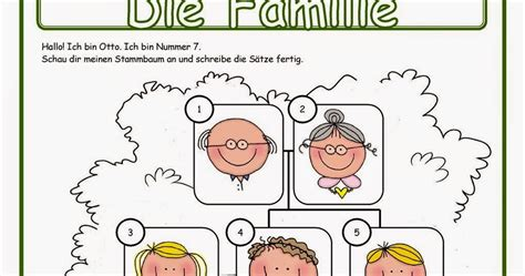 Deutsch mit Anna ) 2 Klasse Arbeitsblätter zum Thema