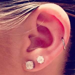 Single cartilage hoop. Next Piercing | piercings ...