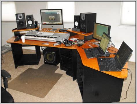 Audio Workstation Desk Plans  Desk  Home Design Ideas