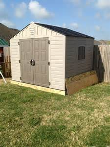 who has a resin storage shed ar15 com
