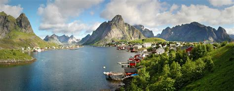 Birds Eye View Of The Reine From