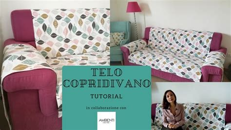 Telo Copridivano Marrone : Video In Collaborazione Con