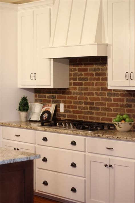 kitchen brick backsplash picture of practical andstylish brick kitchen backsplashes 21