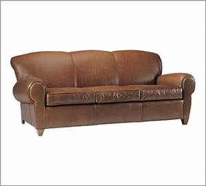 the big bang theory couch manhattan leather sofa from With anytime chair pottery barn