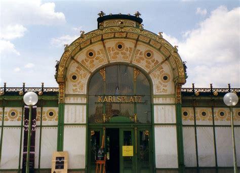 """Jugendstilpavillon """"karlsplatz"""" Der Wiener Ubahn"""