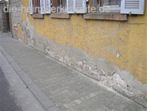 Bautrocknung Feuchte Waende Trocken Legen by Feuchte W 228 Nde Und Mauertrocknung Die Heimwerkerseite De