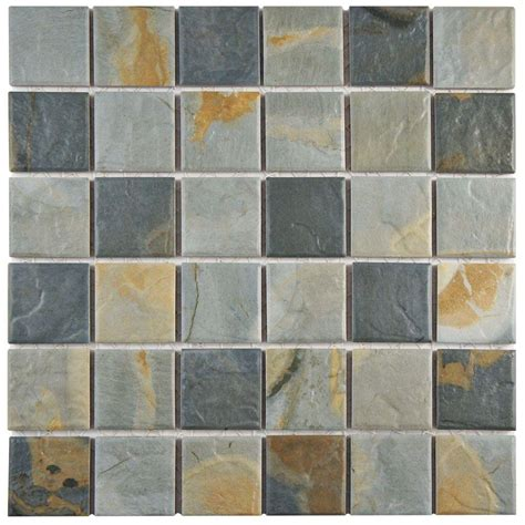 Merola Tile Ardesia Slate 1158 In X 1158 In X 6 Mm