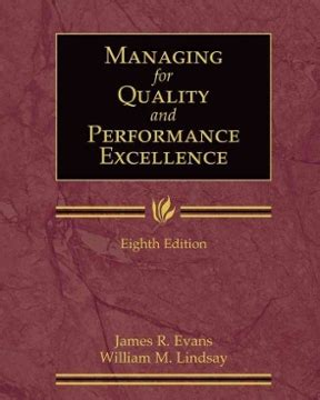 managing  quality  performance excellence