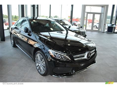 Remember seeing one for sale when i was looking saying pearl but didn't look it. 2015 Obsidian Black Metallic Mercedes-Benz C 300 4Matic ...
