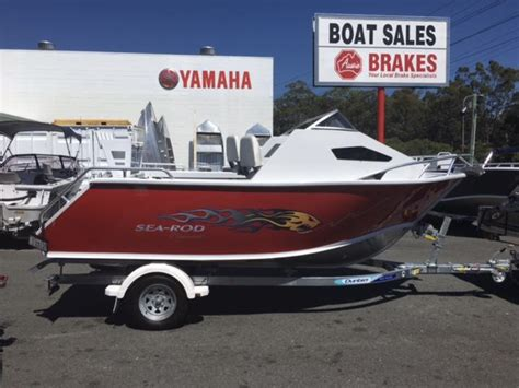 Half Cabin Boats For Sale Gold Coast by Formosa Sea Rod 520 Half Cabin Gold Coast Boating Centre