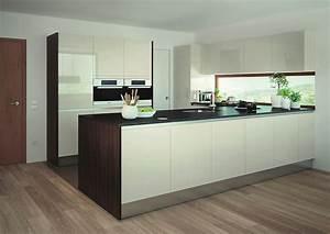 Arbeitsplatte Holz Küche : hochglanz magnolie und holz amerikanische k che ~ Sanjose-hotels-ca.com Haus und Dekorationen