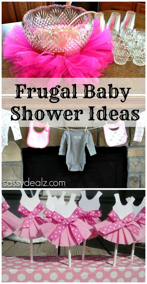 Cheap Decorating Ideas For Baby Shower by Baby Shower Ideas On A Budget Crafty Morning
