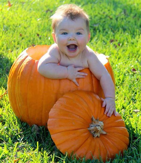 baby  pumpkin  sweet boy loving  pumpkin