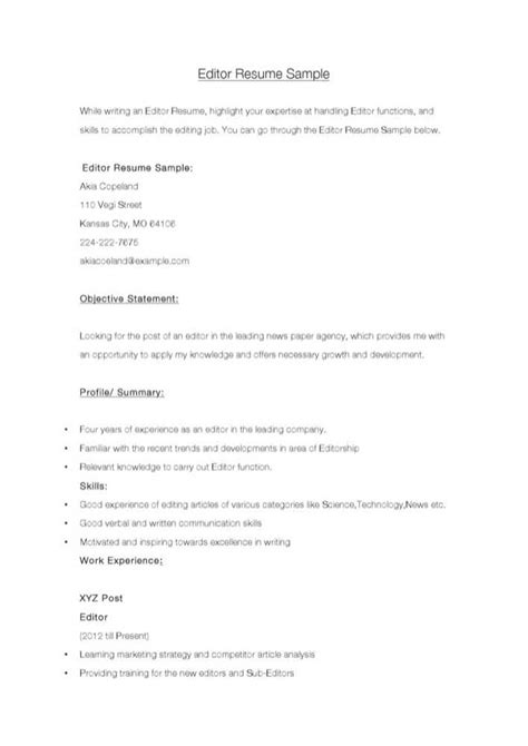 Edit Resume Free by Editor Resume Sle For Free Tidytemplates