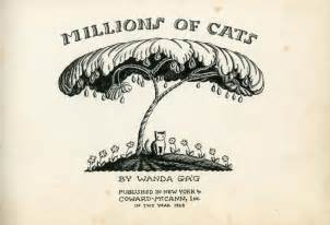 millions of cats millions of cats 1928 187 collecting childrens books