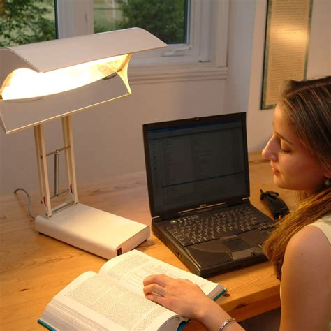 10000 Lux Light Therapy Lamps by Sadelite Desk Lamp Northern Light Technologies Canada