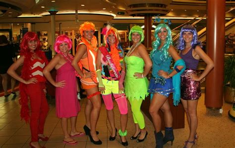 Bachelorette Party Neon Theme. Can I request that we NOT do this one? Haha. =P | Wedding Ideas ...
