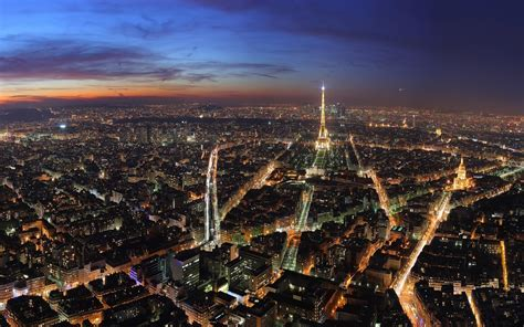 Paris Night Desktop Wallpaper