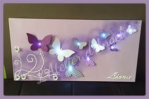 Toile Lumineuse Led : l 39 atelier d 39 angel ~ Teatrodelosmanantiales.com Idées de Décoration